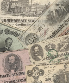 1862 Confederate Currency Selection